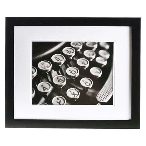 Gallery Solutions 20\'\' x 16\'\' Matted Frame