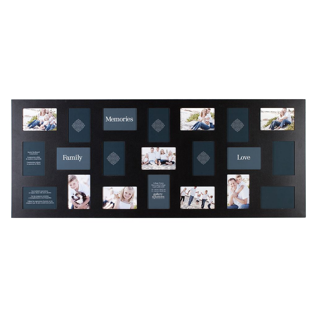 Gallery Solutions 21-Opening Collage Frame