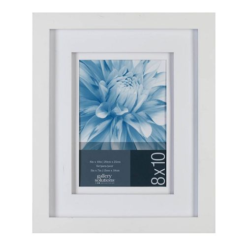 Gallery Solutions 8 X 10 Matted Frame
