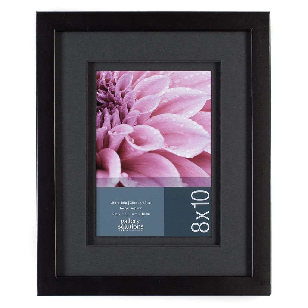 Gallery Solutions 8'' x 10'' Matted Frame