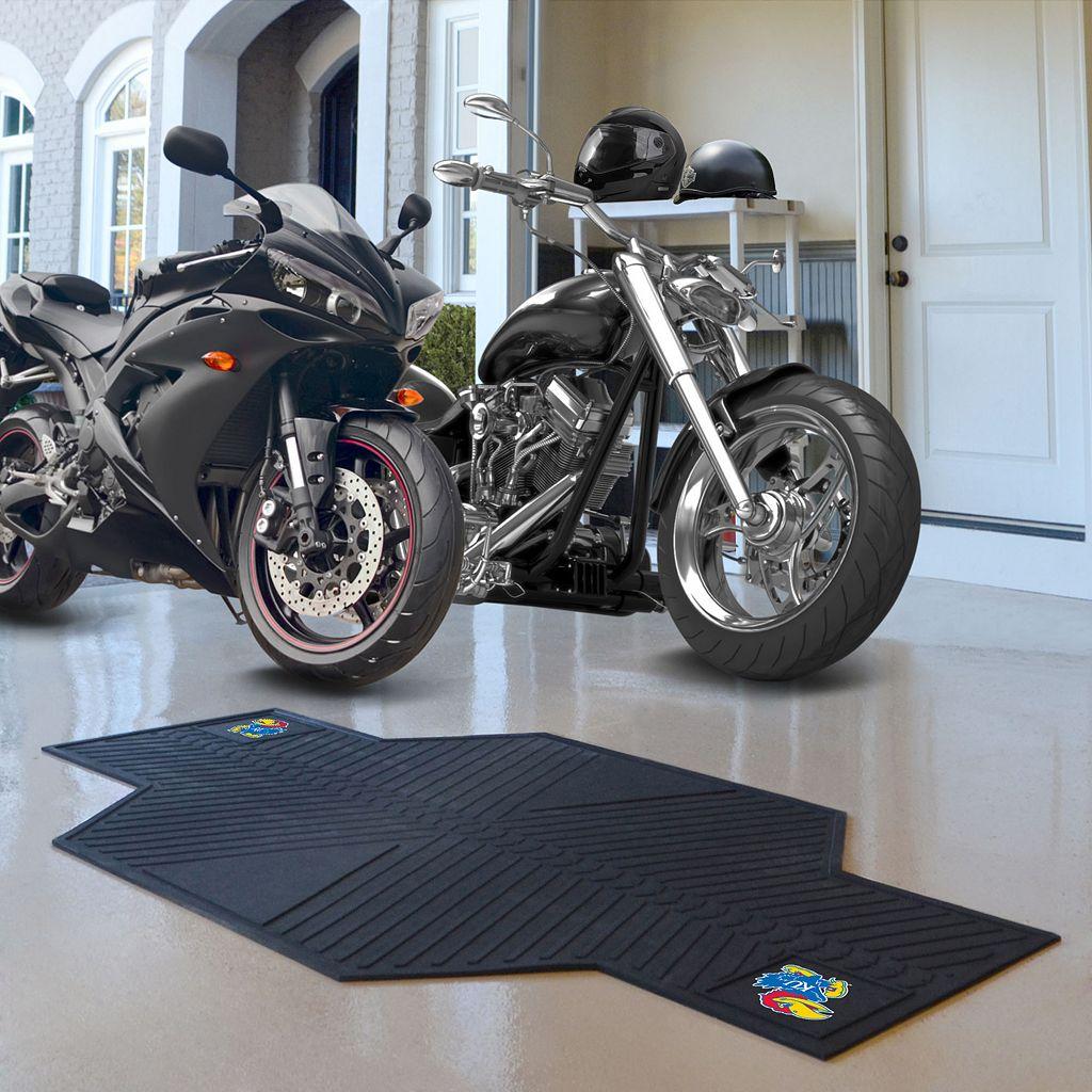 Kansas Jayhawks Motorcycle Mat