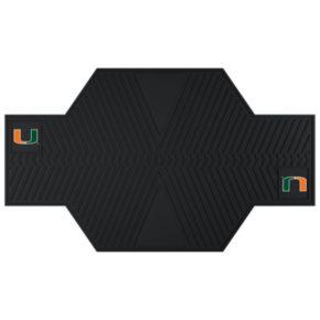Miami Hurricanes Motorcycle Mat