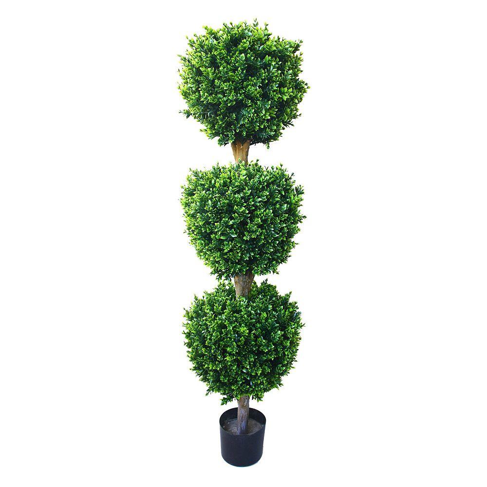 Navarro 5-ft. Potted Ball Hedyotis Topiary - Indoor & Outdoor