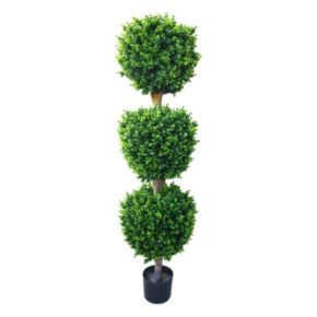 Navarro 5-ft. Potted Ball Hedyotis Topiary - Indoor and Outdoor
