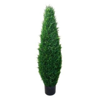 Navarro 41-in. Potted Cypress Topiary - Indoor and Outdoor