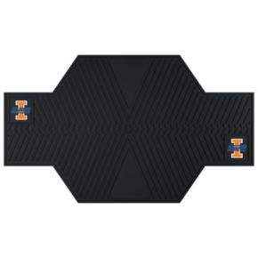 Illinois Fighting Illini Motorcycle Mat