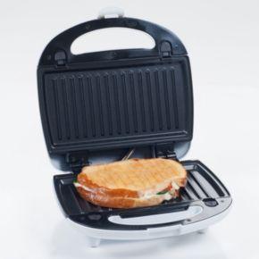 Chef Buddy 3-in-1 Sandwich Panini Press and Waffle Maker Iron