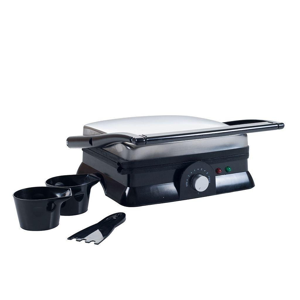 Chef Buddy Large Nonstick Grill & Panini Press