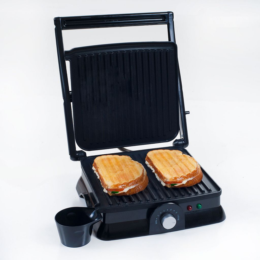 Chef Buddy Large Nonstick Grill and Panini Press