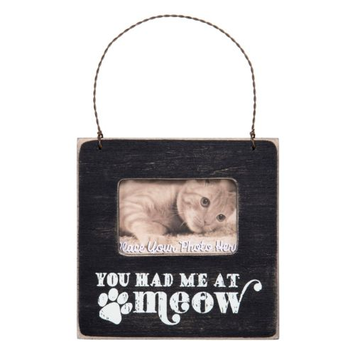 You Had Me At Meow Cat 2 X 3 Wood Frame
