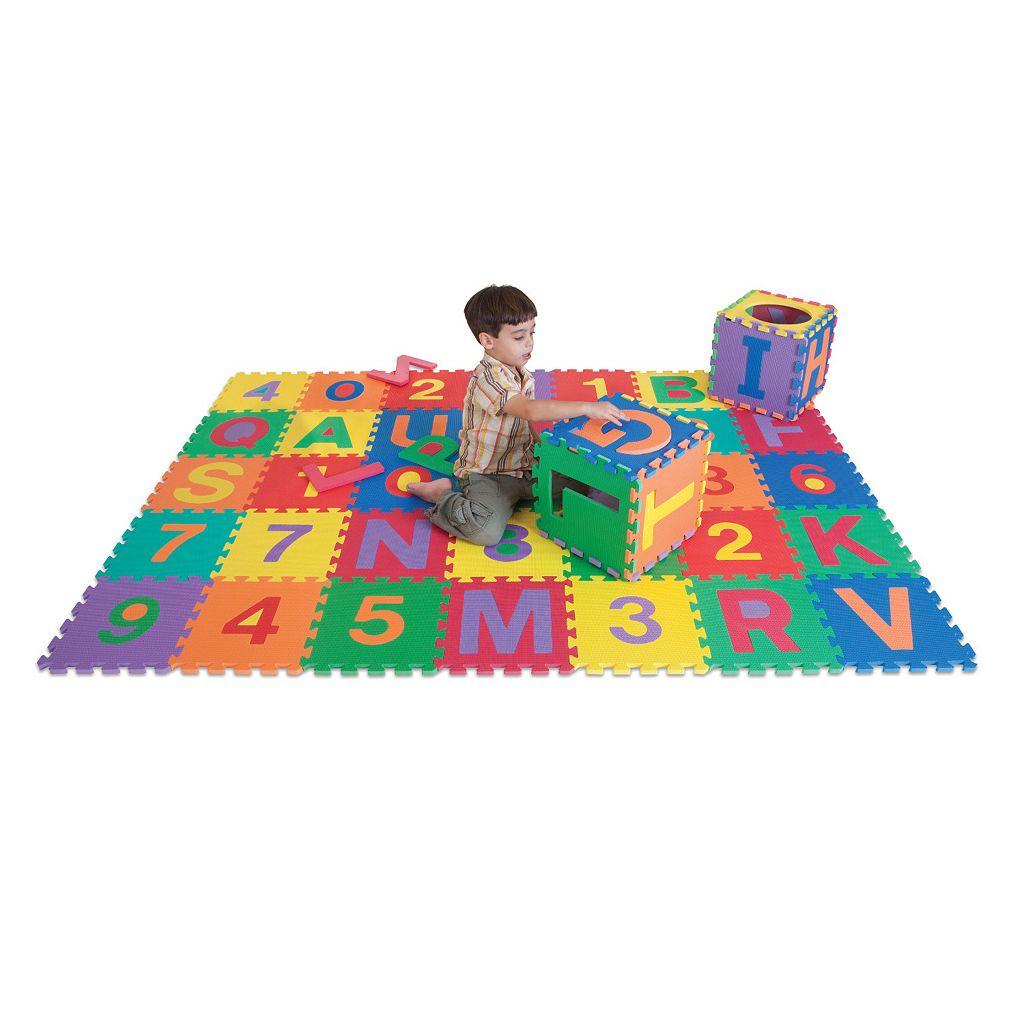 Edu Tile 36-pc. Letters & Numbers Set