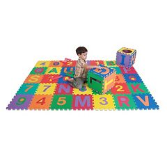 Edu Tile 36-pc. Letters & Numbers Set