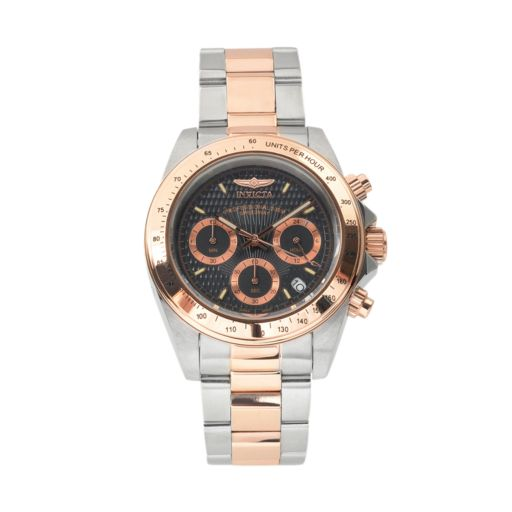 Invicta Men's Speedway Two Tone Stainless Steel Chronograph Watch