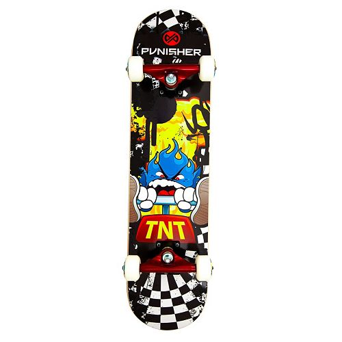 Punisher Skateboards TNT 31-in. ABEC-7 Complete Skateboard