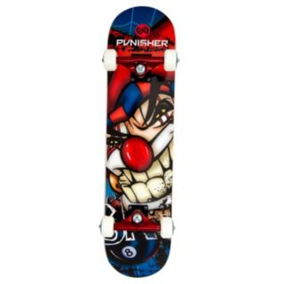 Punisher Skateboards Jester 31-in. ABEC-7 Complete Skateboard