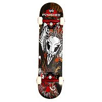 Punisher Skateboards Legends 31 in ABEC-7 Complete Skateboard