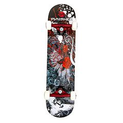 Punisher Skateboards Rose 31-in. ABEC-7 Complete Skateboard