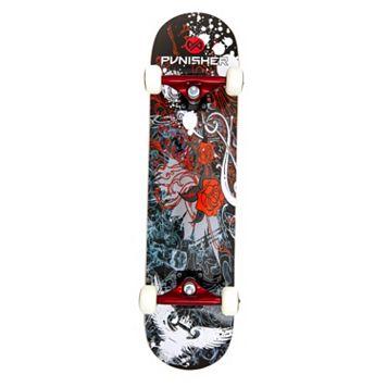 Punisher Skateboards Rose 31-in. ABEC-7 Complete Skateboard