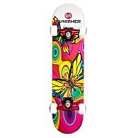 Punisher Skateboards Butterfly Jive 31 in ABEC-7 Complete Skateboard