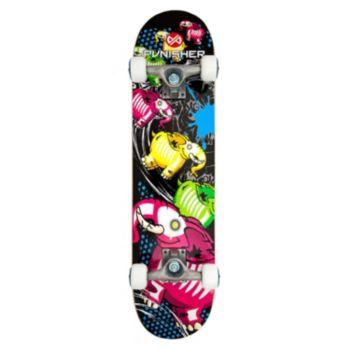 Punisher Skateboards Elephantasm 31-in. ABEC-7 Complete Skateboard