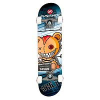 Punisher Skateboards Guilty Bear 31-in. ABEC-7 Complete Skateboard