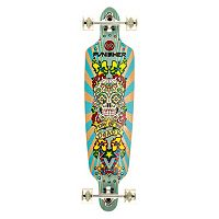 Punisher Skateboards Day Of The Dead 40 in Complete Longboard