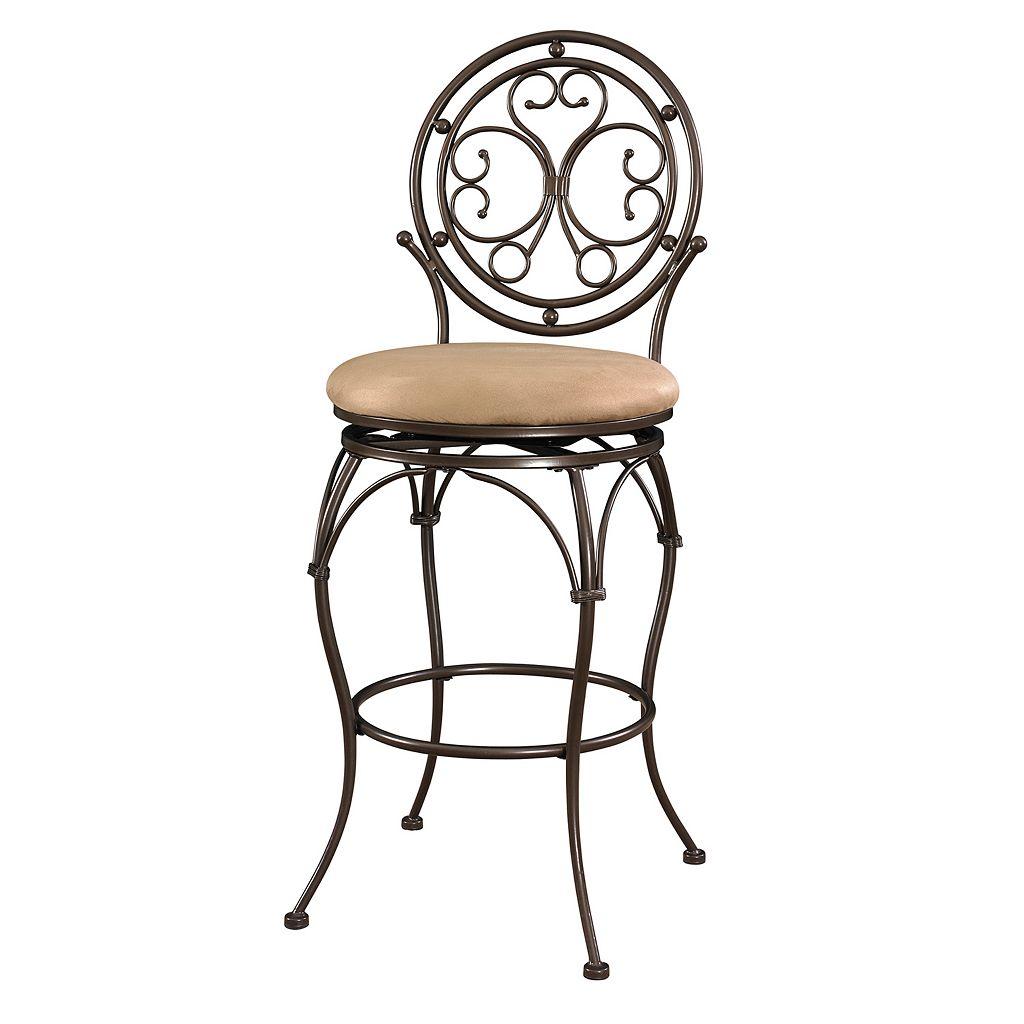 Big & Tall Scroll Circle Bar Chair