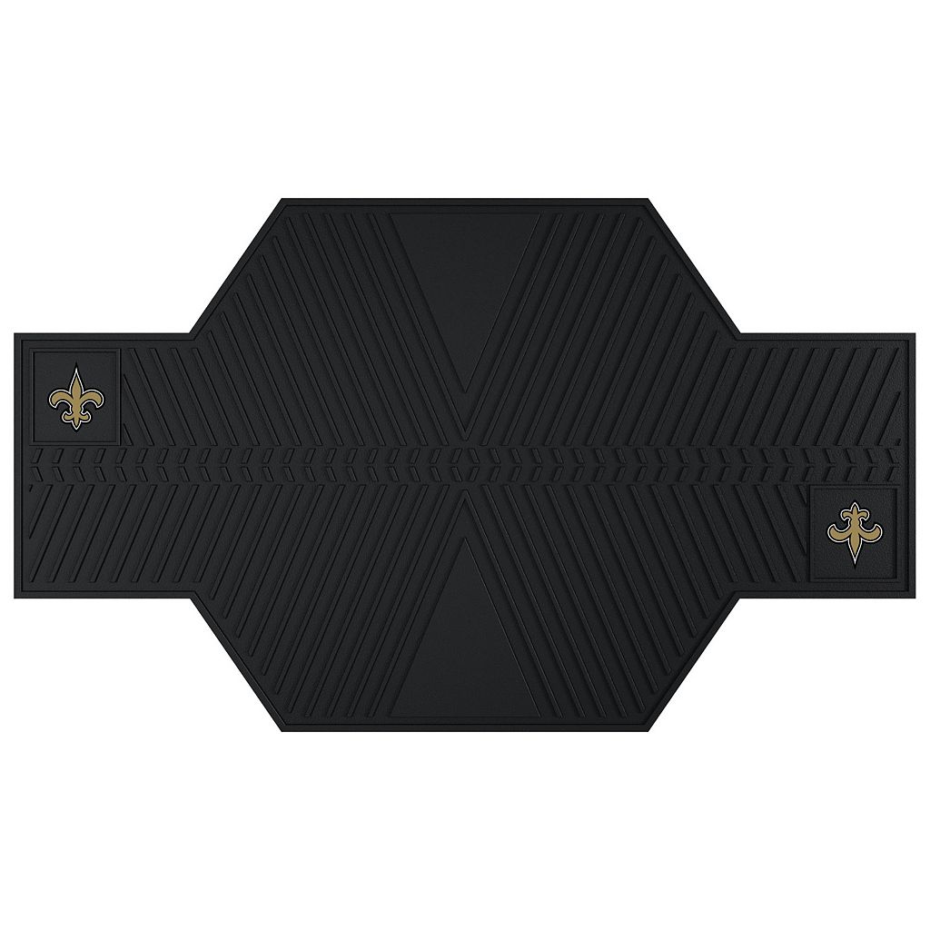 New Orleans Saints Motorcycle Mat