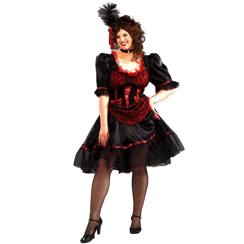 Saloon Girl Costume - Adult Plus
