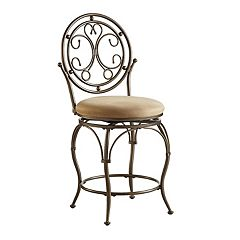Big & Tall Scroll Circle Bar Chair