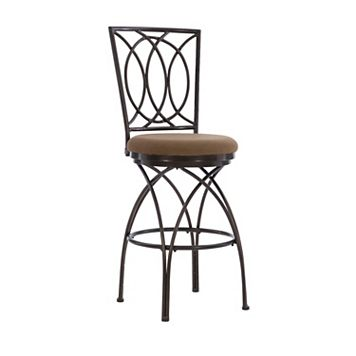 Big & Tall Crossed Legs Bar Chair