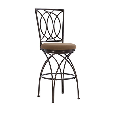 Big and Tall Crossed Legs Bar Chair