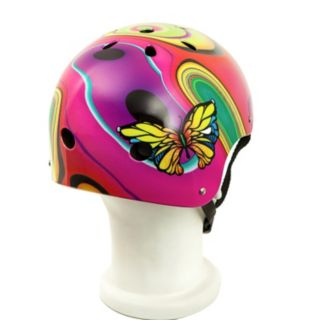 Punisher Skateboards Butterfly Jive 11-Vent Skate Helmet - Kids