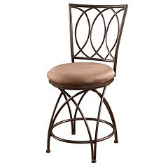 Big & Tall Crossed Legs Counter Chair