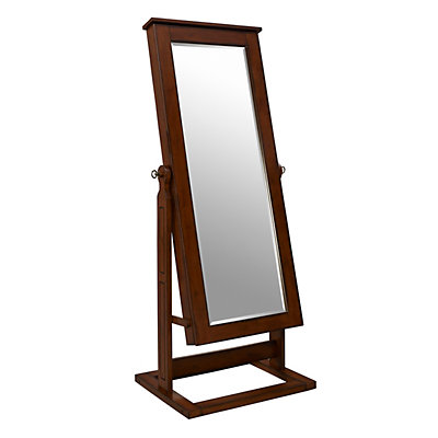 Cheval Mirror and Jewelry Organizer