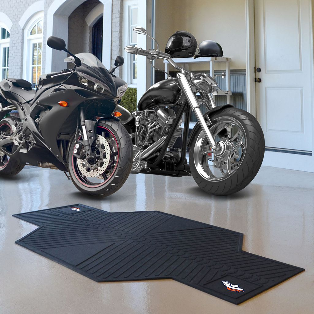 Denver Broncos Motorcycle Mat