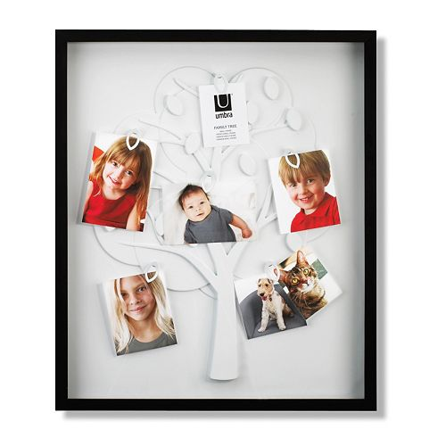 Umbra Family Tree 6 Opening Photo Frame