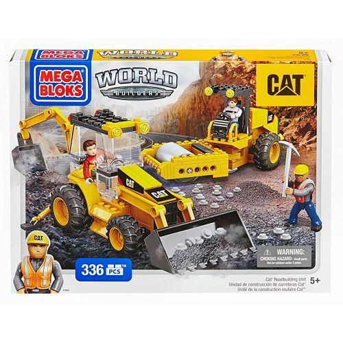 Mega Bloks Cat Roadbuilding Unit Building Set