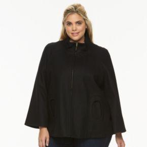 Plus Size Braetan Wool-Blend Jacket