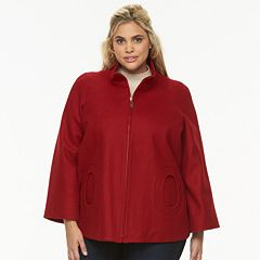 Plus Size Braetan Wool-Blend Jacket