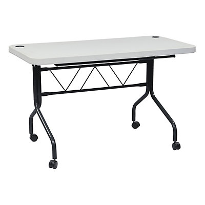 Office Star Products Work Smart 4-ft. Multi-Purpose Flip Table