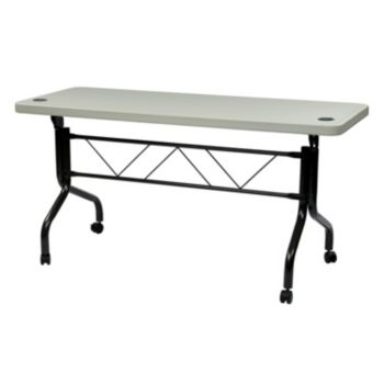 Office Star Products Work Smart 5-ft. Multi-Purpose Flip Table