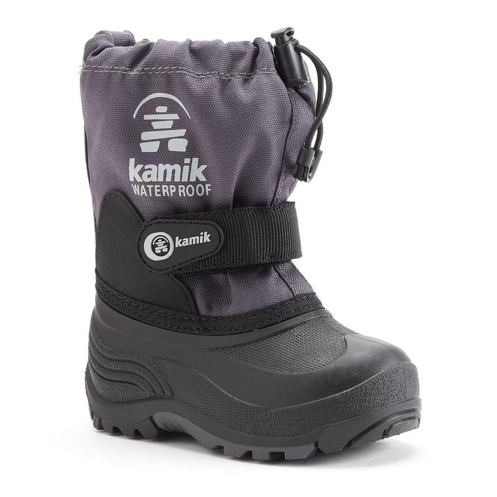 Kamik Waterbug5 Boys' Waterproof Winter Boots