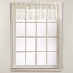 No918 Joy Lace Tier Window Valance - 60'' x 15''