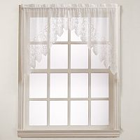 No918 Joy Lace Swag Curtain - 60'' x 38''