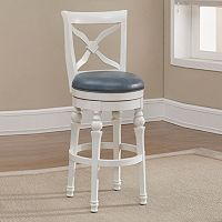 American Heritage Billiards Livingston Swivel Counter Stool