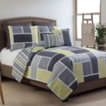 VCNY Morgan 7-pc. Reversible Quilt Set
