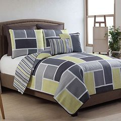 VCNY Morgan 7 pc Reversible Quilt Set