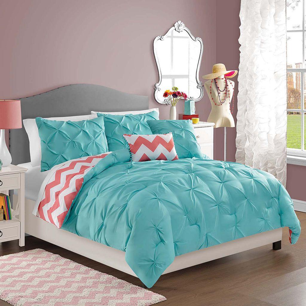 VCNY Sophia Reversible Comforter Set