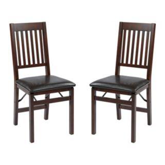 OSP Designs Hacienda 2-pk. Folding Chair Set